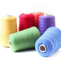 Virgin cotton yarns