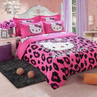 Cotton printed bedding sets