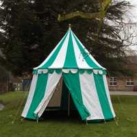 Medieval round tents