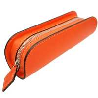 Leather pencil box