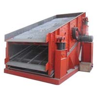 Eccentric vibrating screen