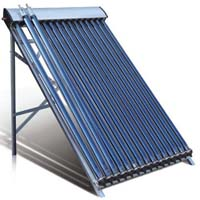 Omega solar water heater