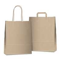 Poly coated paper bags