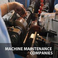 Machine maintenance companies