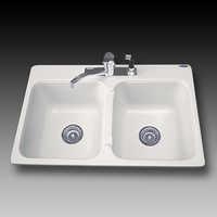 Acrylic sink