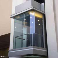 Kone glass elevator