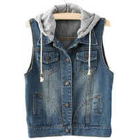 Sleeveless Denim Jackets