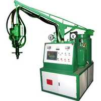 Polyurethane dispensing machine