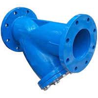 Y strainer valve