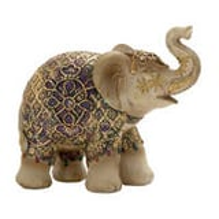 Antique elephant figurine
