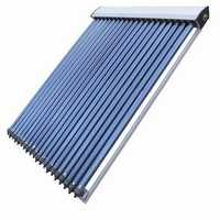 Evacuated tube solar collector