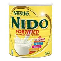 Nestle nido milk powder