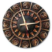 Terracotta Wall Clock