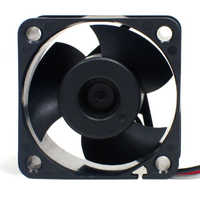 Double ball bearing fans