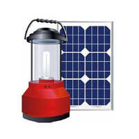 Hand crank solar lantern