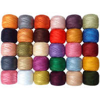 Cotton embroidery threads