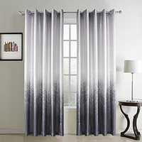 Organza silk curtains
