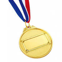 Gold plated medals