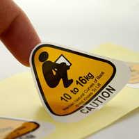Laminated Sticker