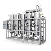 Water distillation plants
