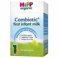 Hipp organic milk