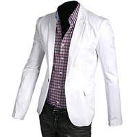 Mens cotton suit