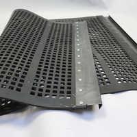 Rubber screen mats
