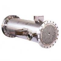 Tube sheet heat exchanger
