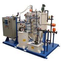 Waste gas treatment equipment