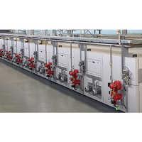 Textile stenter machines