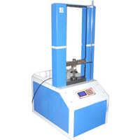 Coil spring testing machine