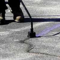 Road Crack Repairing