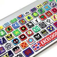 Keyboard sticker