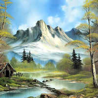 Landscape Canvas Painting