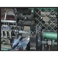 Chain link fence making machine