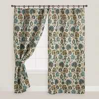 Poly Jute Curtains