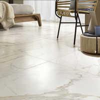 Marble flooring work
