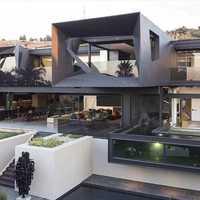 Exterior architect designing