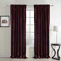 Lined curtain