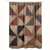 Quilted curtain