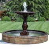 Fiberglass Garden Fountain