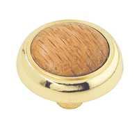 Brass Wood Insert