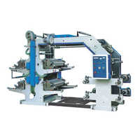 Plastic color printing machine