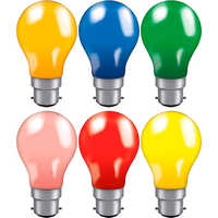Coloured Light Bulbs