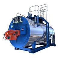 Oil fired hot air generator