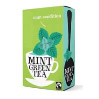 Mint green tea