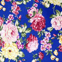 Screen print cotton fabric