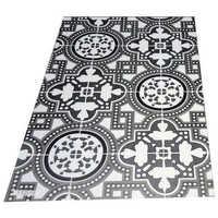 Printed vinyl flooring