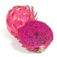 Frozen dragon fruit