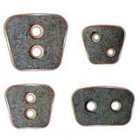 Sintered clutch button